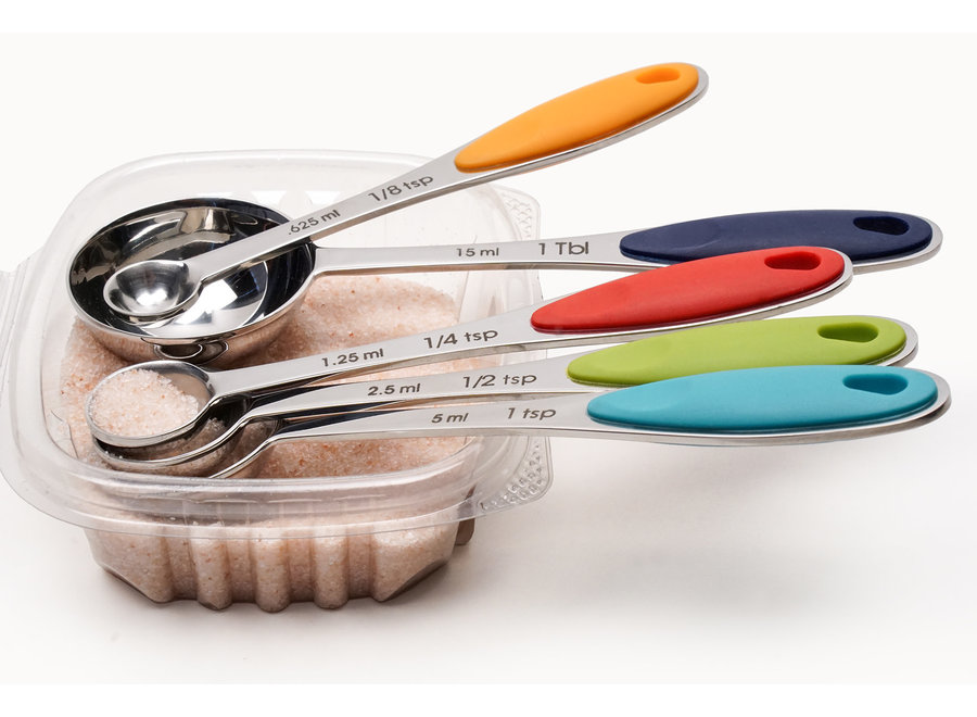 Endurance®  Colorful Measuring Spoons Set of 5