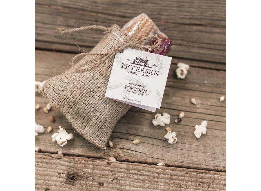 Popcorn on the Cob (Burlap)