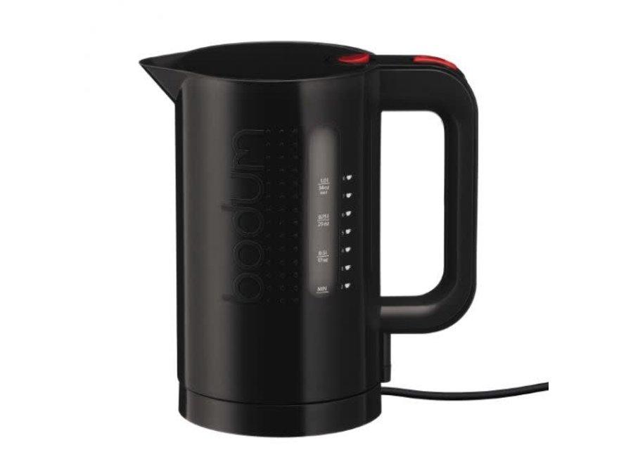 Bistro Electric Water Kettle Cordless Black 1L