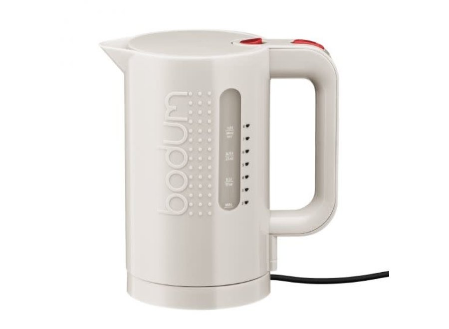Bistro Electric Water Kettle Cordless White 1L