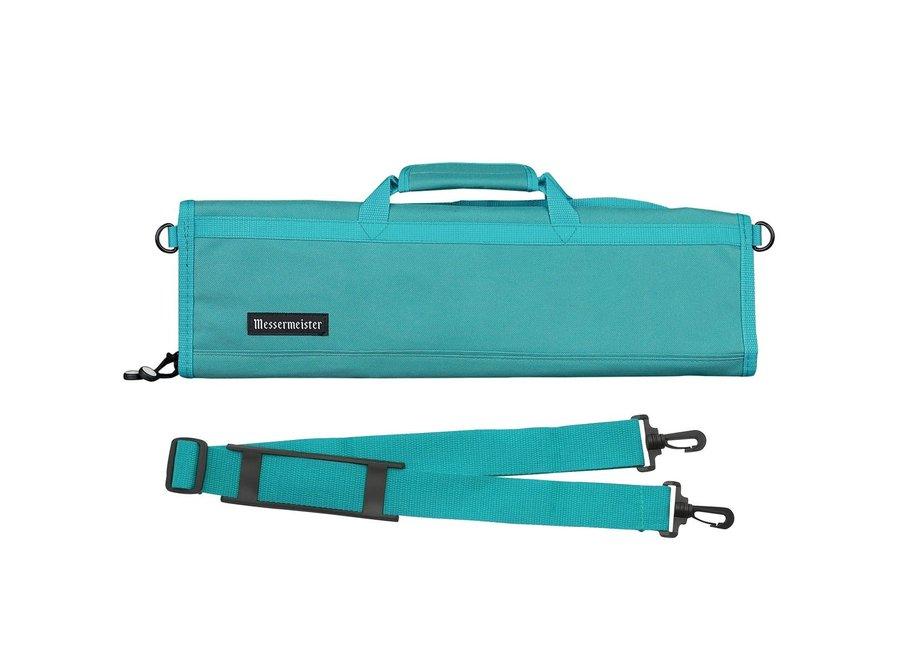 8 Pocket Padded Knife Luggage - Teal