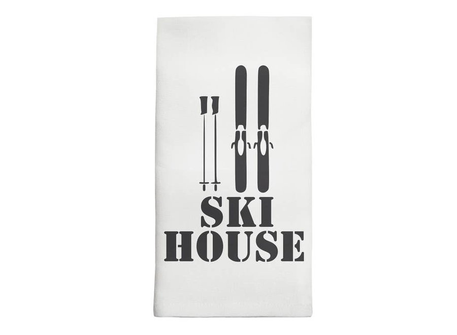 Tea Towel - Ski House