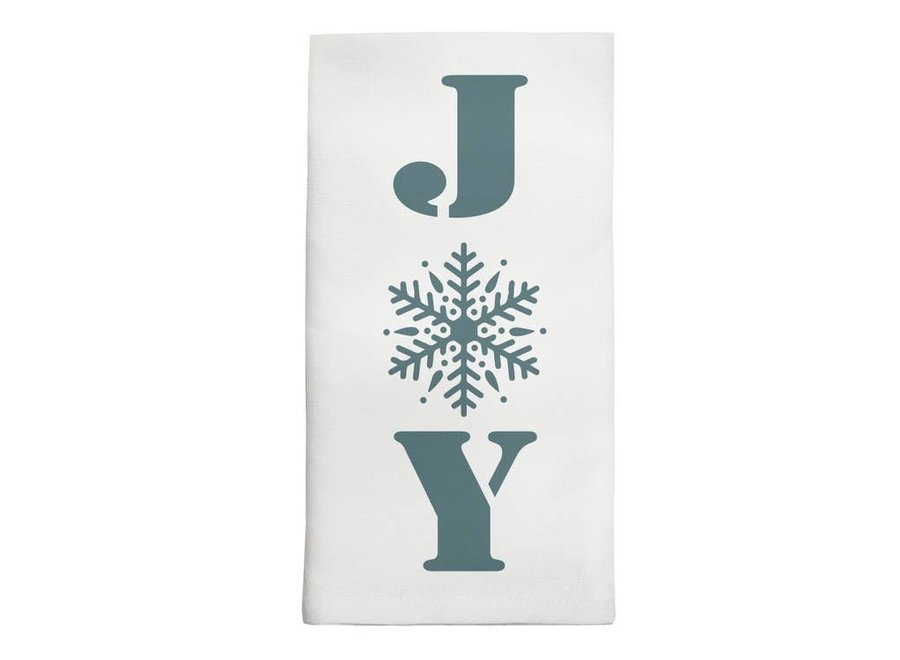Tea Towel - Snowflake Joy