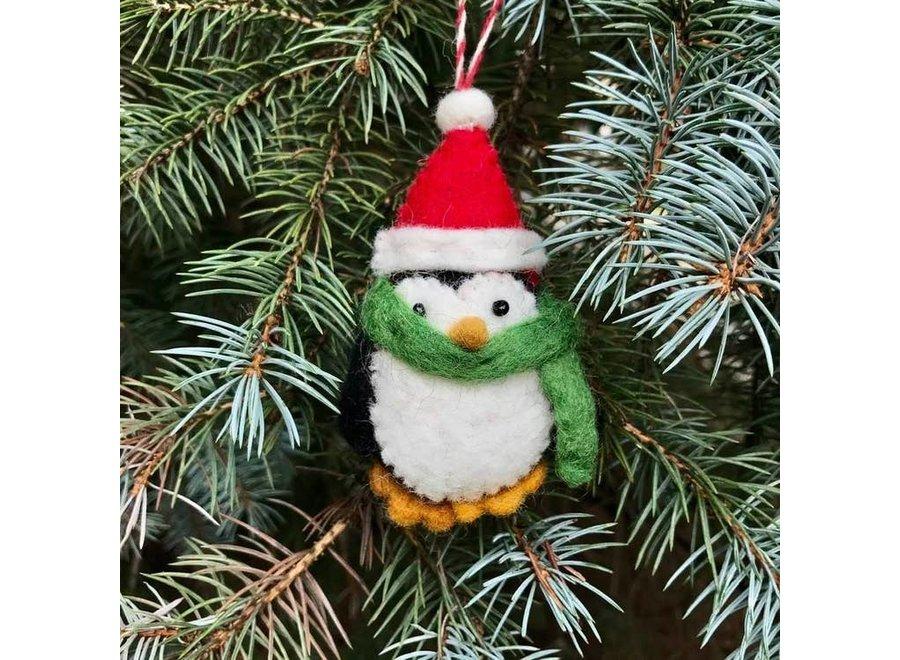 Christmas Penguins Ornament