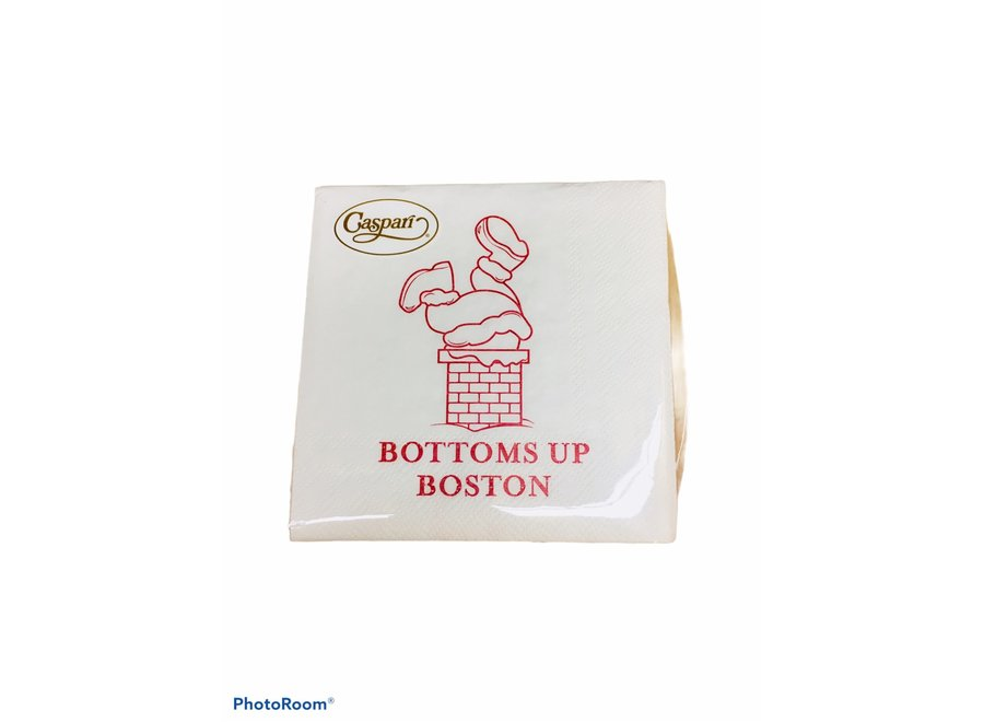 Bottoms Up Cocktail Napkins - 24 Per Package