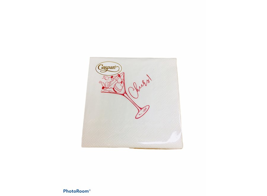 Cheers Cocktail Napkins - 24 Per Package