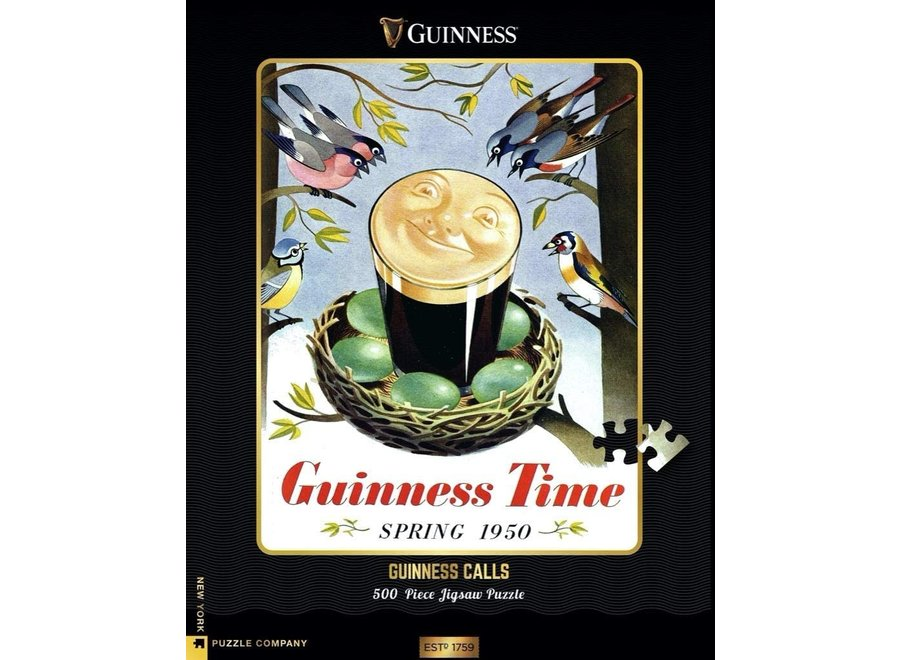 Guinness Calls 500 piece Puzzle