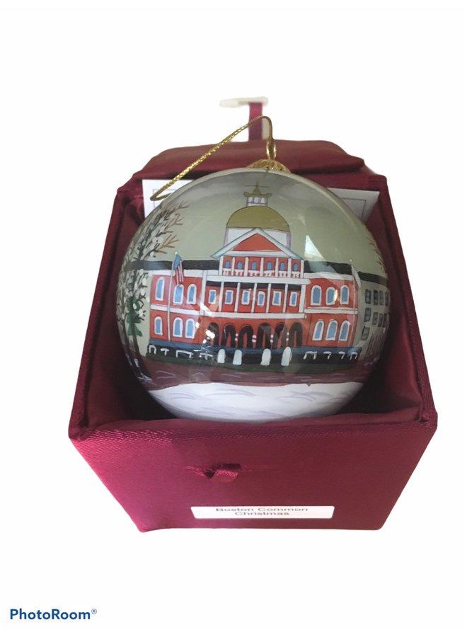 Boston Common Christmas Ornament