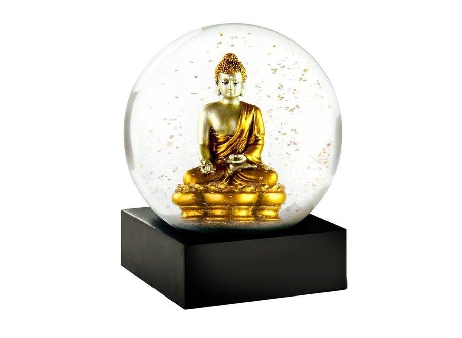 Gold Buddha Snow Globe