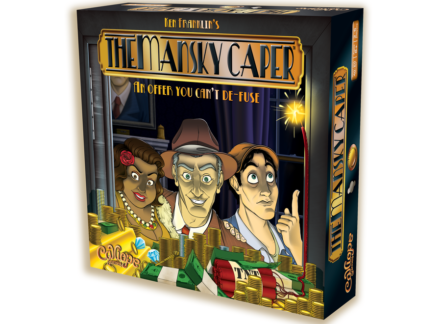 The Mansky Caper Board Game