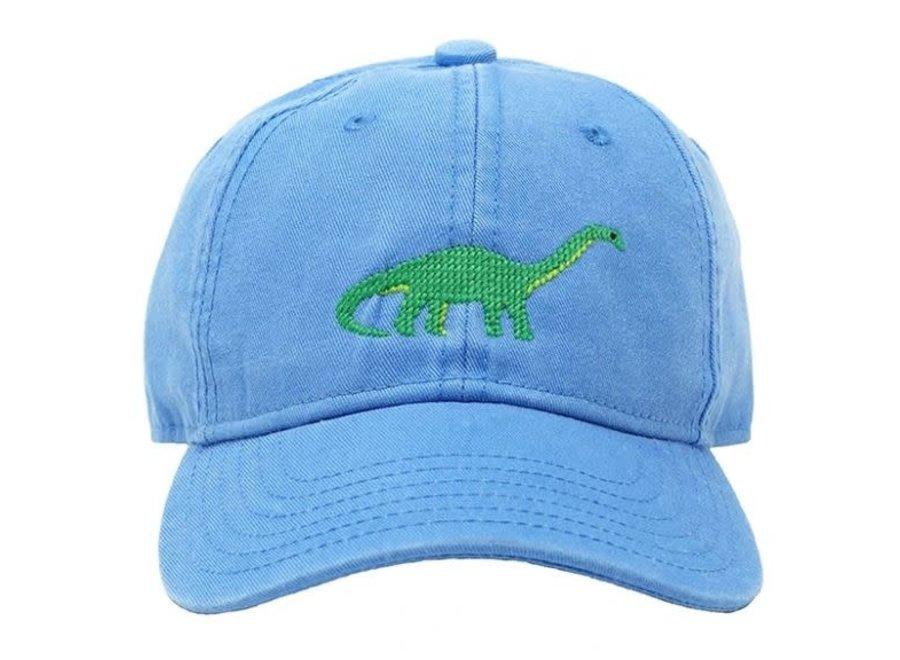 Kids Brontosaurus on Light Blue Hat