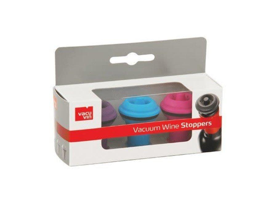 Vacu Vin Wine 3-Pc Stopper Set