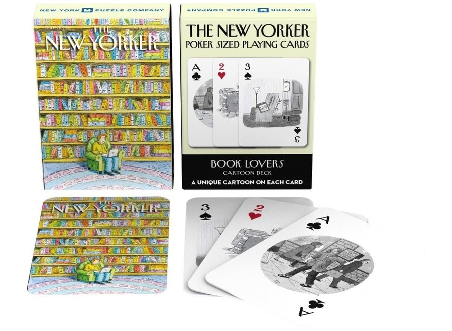 Book Lovers Playing Cards