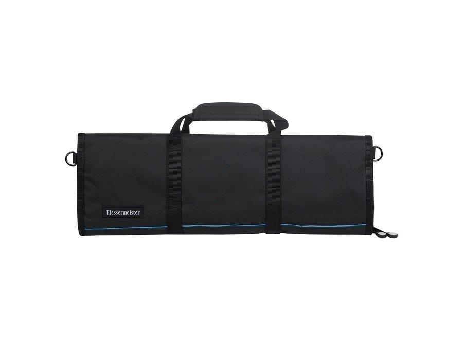 12 Pocket Padded Knife Luggage - Black