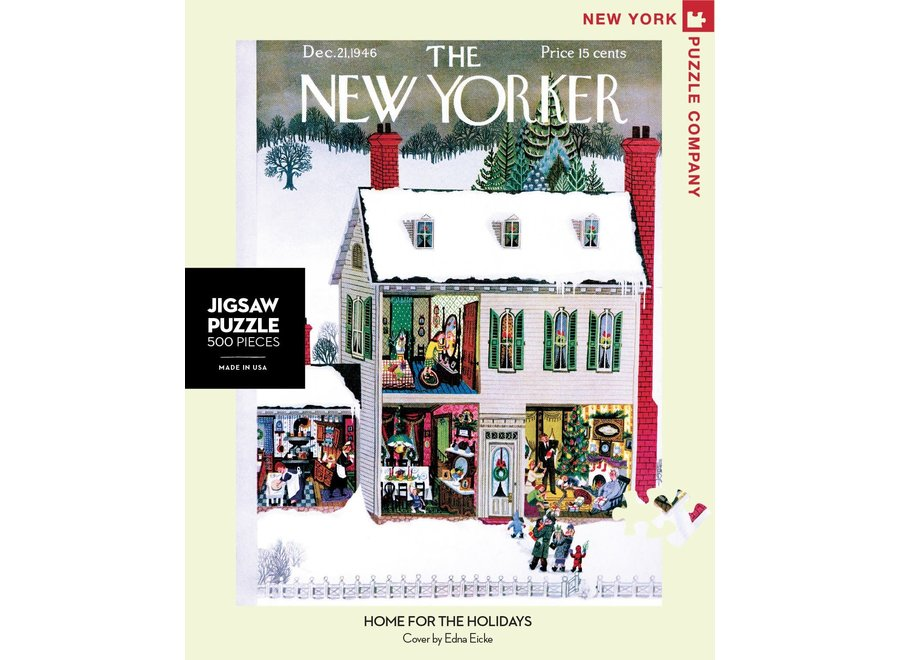 Home for the Holidays 500 piece Puzzle