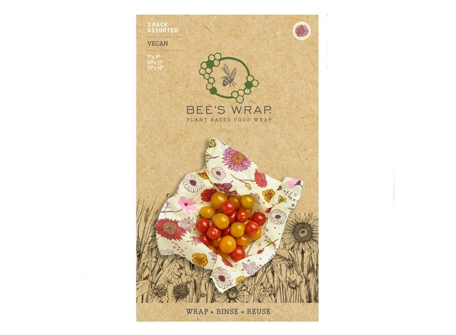 PLANT-BASED Assorted Sizes in Meadow Magic - Pack of 3