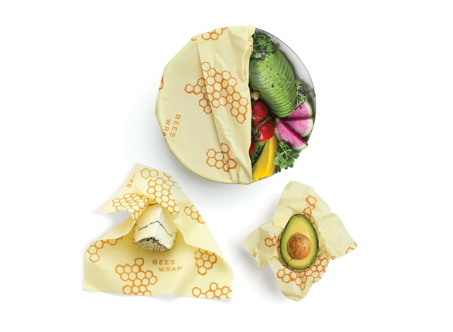 Assorted Sizes in Honeycomb Print - Pack of 3