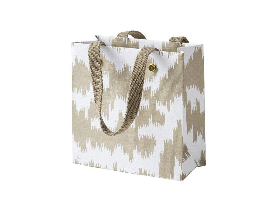 Modern Moiré Small Square Gift Bag - 1 Each