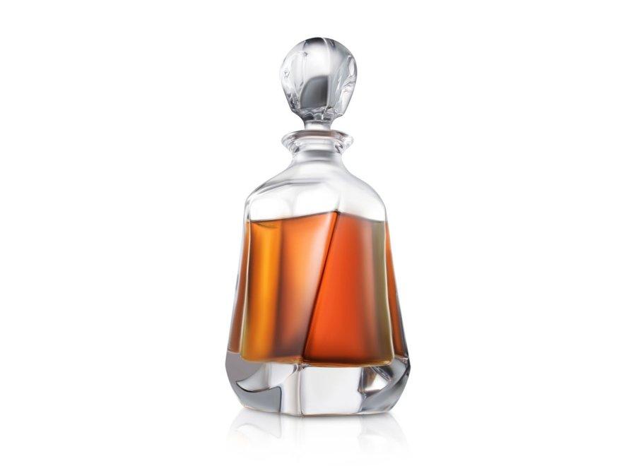 Aurora Crystal Whiskey Decanter