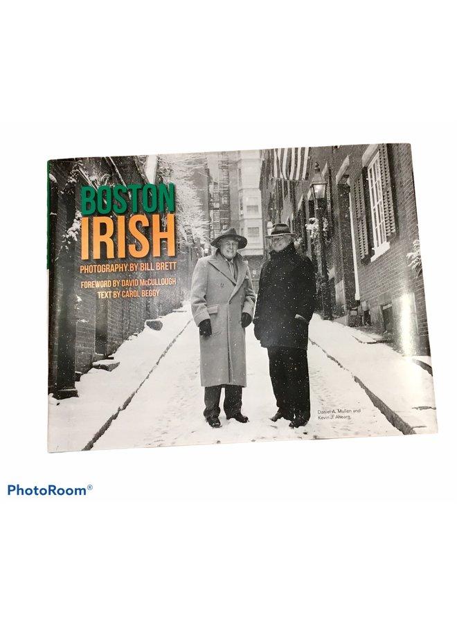 Boston Irish Book Limited Edition Cover ~ by Bill Brett Photographer