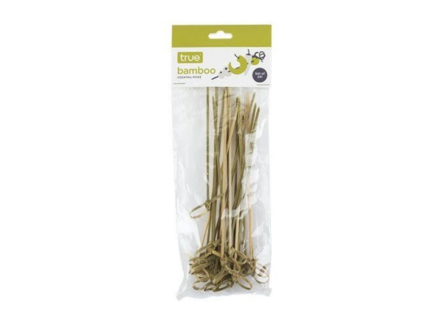 Long Bamboo Appetizer Picks