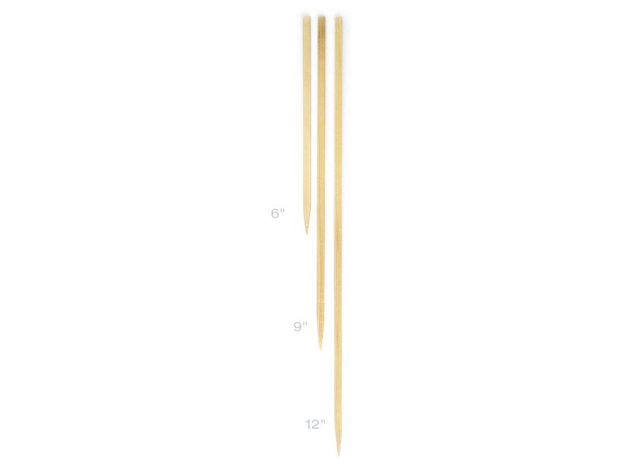 """Flat Bamboo Skewer 12"""" Long"""