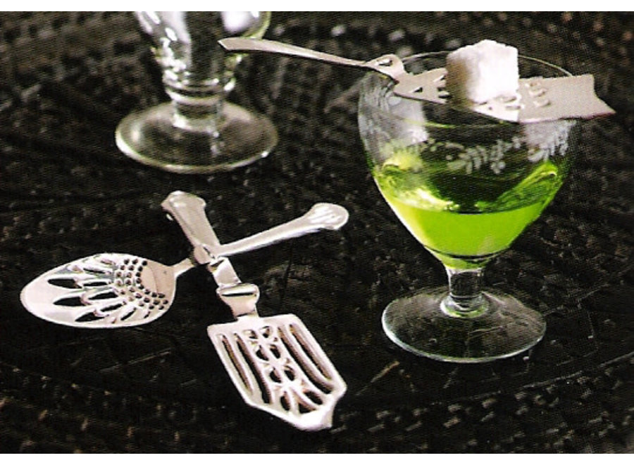 Absinthe Spoon Silver Plated
