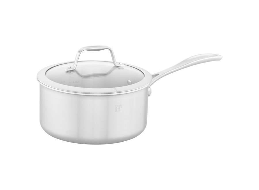 Spirit  3-Ply 3-qt Stainless Steel Saucepan