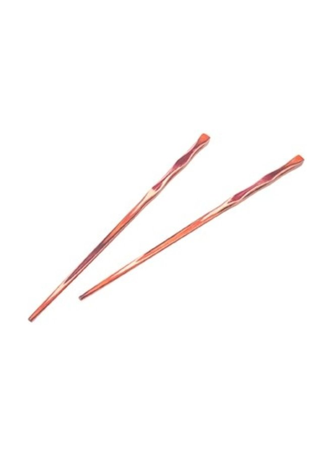 "12"" Red Pakka Chopsticks - 2 Pair"