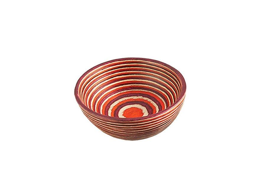 Red Pakka Round Pinch Bowl