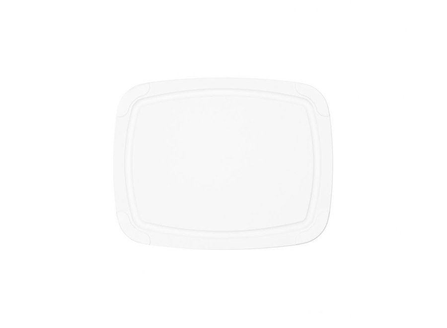 "Poly Cutting Board 11.5"" x 9"" - White"
