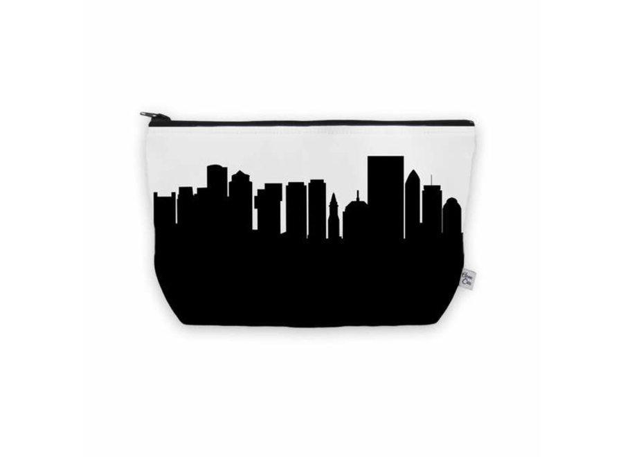 Boston Skyline Cosmetic Makeup Bag