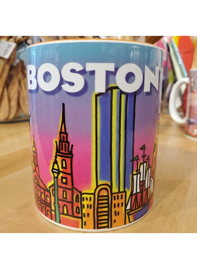 Boston Neon Mug
