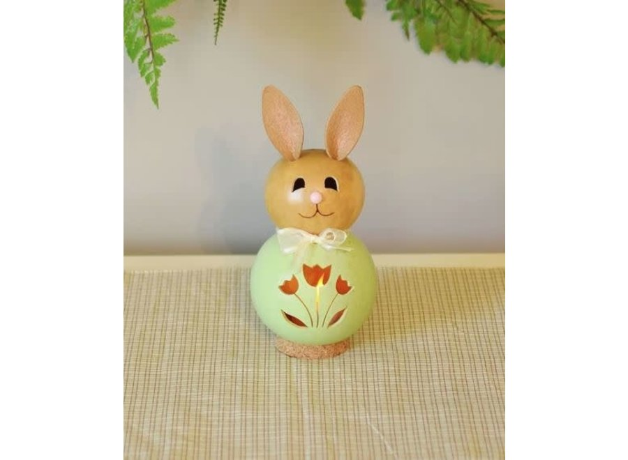 Natalie - Miniature Green Bunny