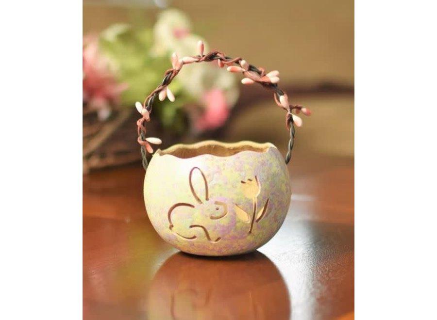 Pastel Bunny Basket