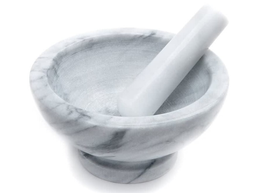 Large Marble Mortar and Pestle 8.25""