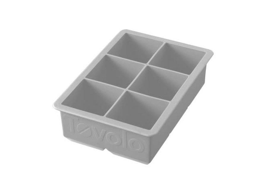 King Cube Ice Tray - Oyster Gray