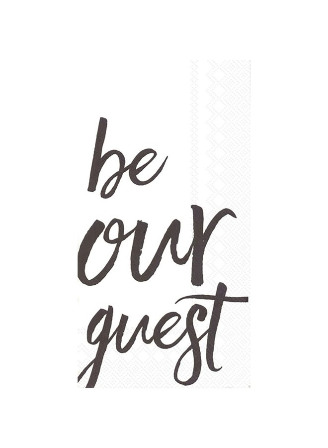 Be Our Guest Guest Towel