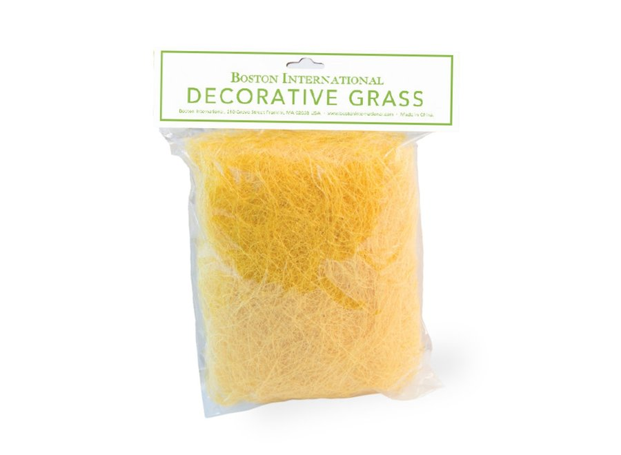 Decorative Easter Grass Yellow