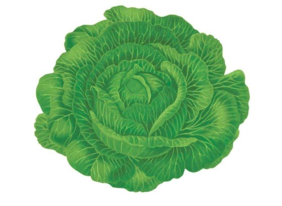 Cabbageware Die-Cut Placemat - 1 Per Package