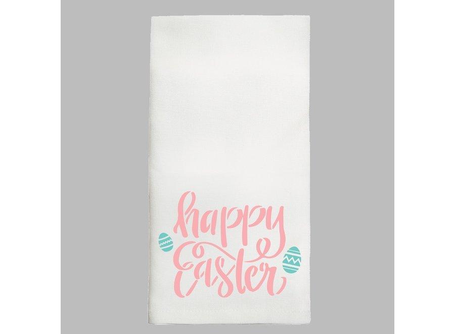 Tea Towel Happy Easter