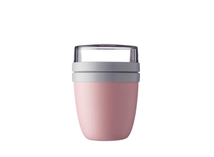 Lunch Pot Ellipse - Nordic pink
