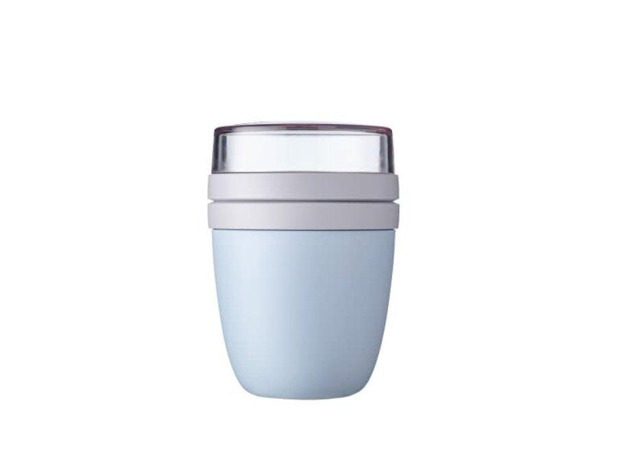 Lunch Pot Ellipse - Nordic Blue