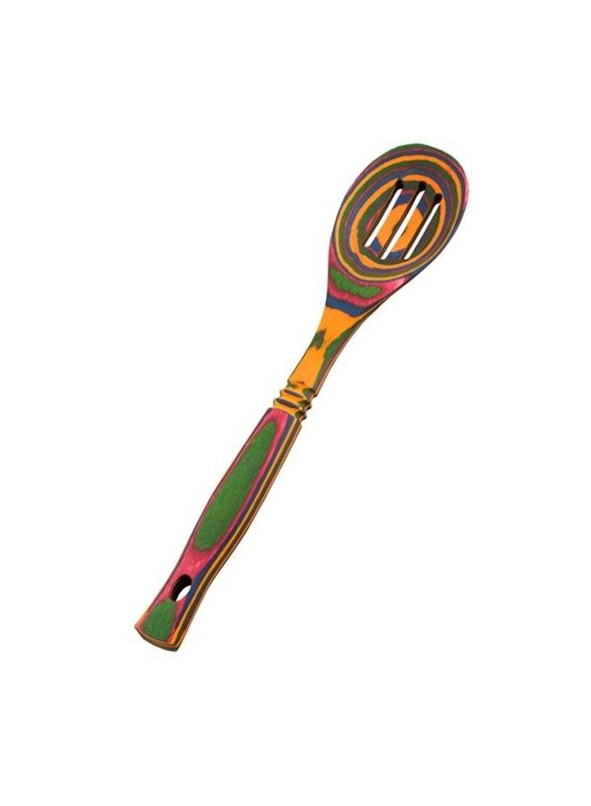 """12"""" Rainbow Pakka Slotted Spoon"""