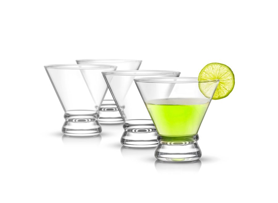 Afina Ribbon Martini Glasses