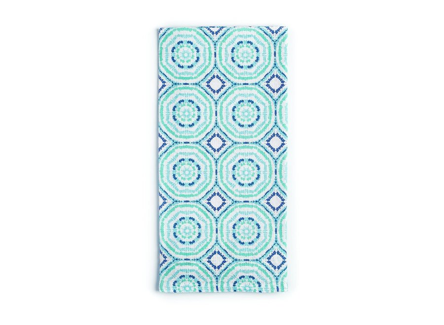 Hypnotic Kitchen Towel - Blueberry Splash
