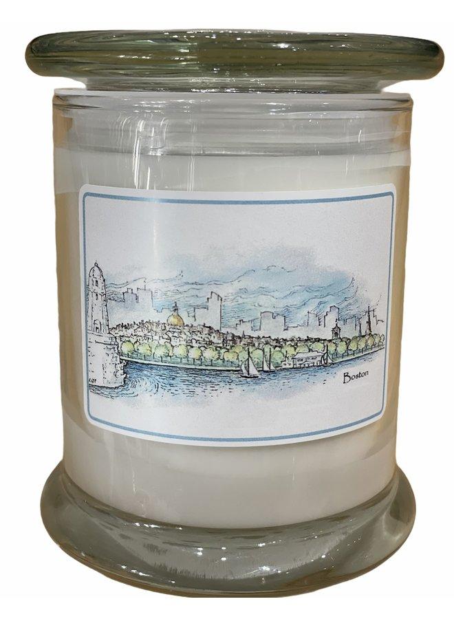 Boston Skyline Candle - Rainwater Scent