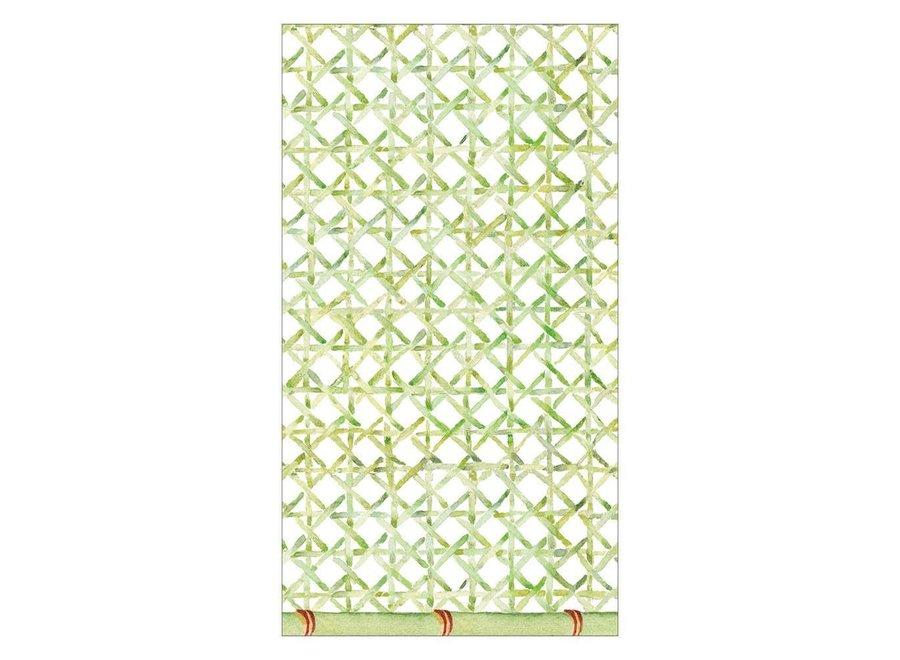 Trellis Paper Guest Towel Napkins - 15 Per Package