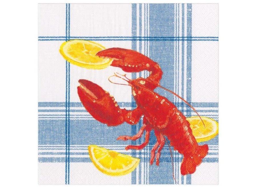 Lobster Bake Paper Dinner Napkins - 20 Per Package
