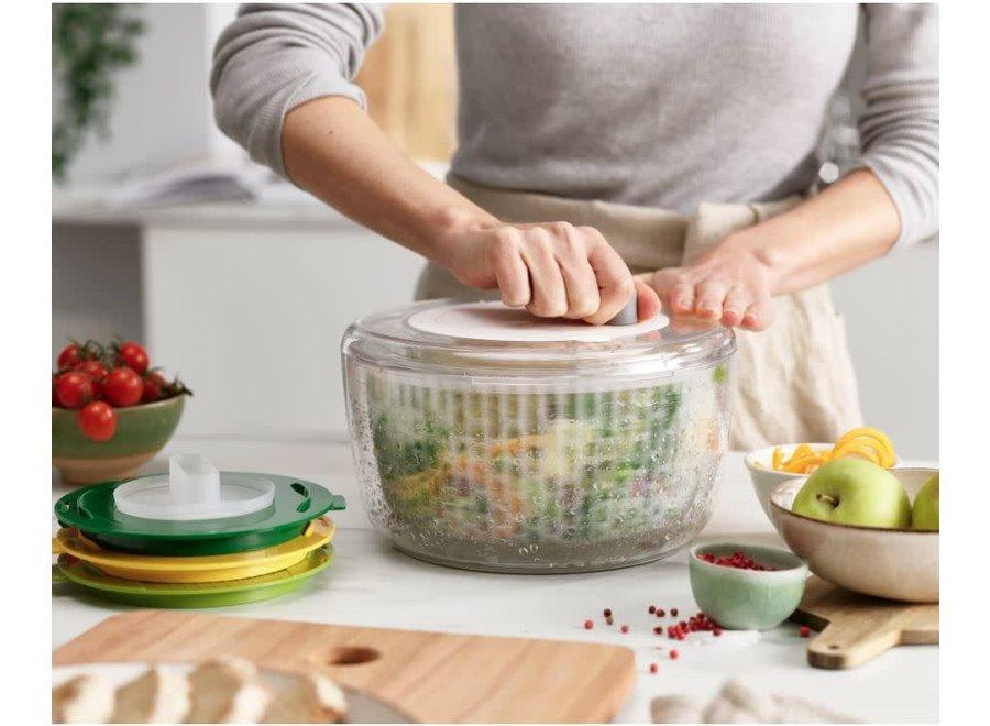 Multi-Prep 4-Piece Salad Preparation Set - Multicolor